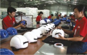 Giấy chứng nhận đủ điều kiện sản xuất mũ bảo hiểm