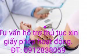Giấy phép hoạt động trong lĩnh vực y tế